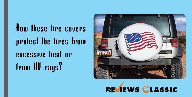 RV tire cover