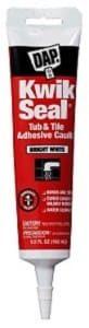 Dap 18001 Kwik Seal Caulk with 5.5-Ounce Tube-min