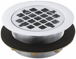 KOHLER K-9132-CP Shower Drain, Polished Chrome